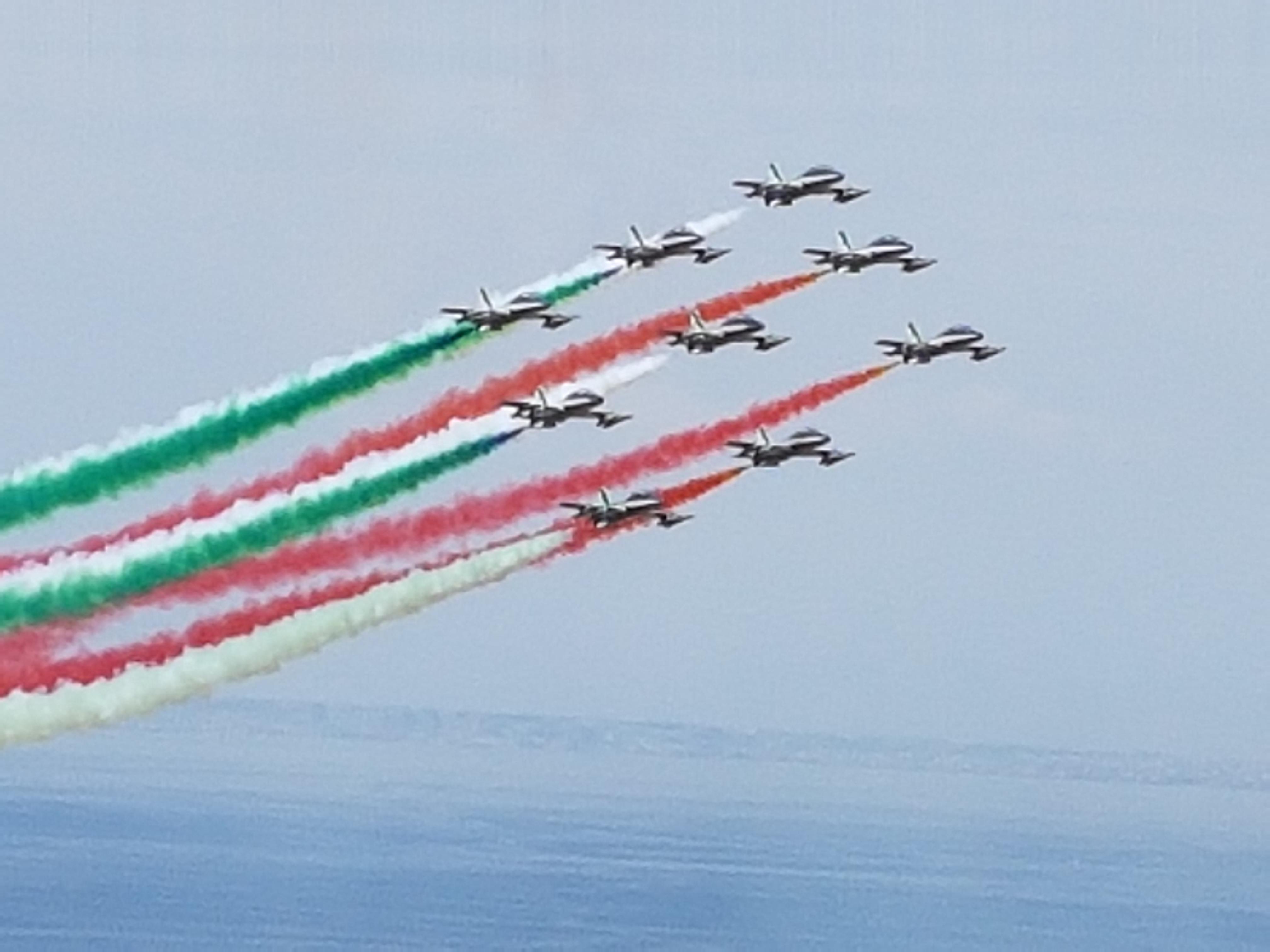 A Sorrento arrivano le Frecce Tricolori e simulatore di volo